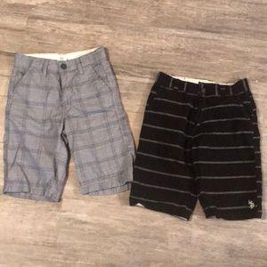 Bundle of size 10 shorts for boys